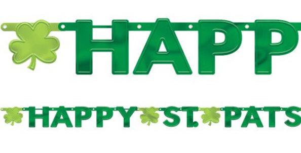 Happy St Pats Letter Banner - 2.43m (each)