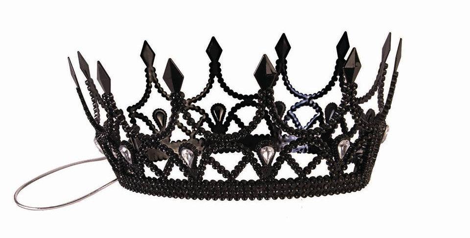Queen Crown Black Dark Royalty