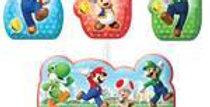 Super Mario Birthday Candles (4pk)