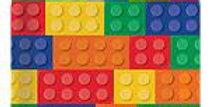 Block Party Square Plates 23cm (8pk)