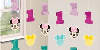Baby Minnie Fun One String Decoration (6pk)
