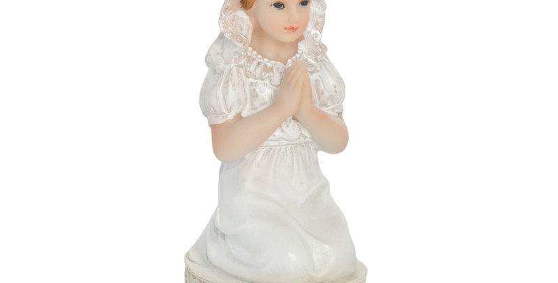 First Communion figurine Girl, 11cm