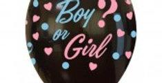 11'' Boy or Girl Latex Balloons