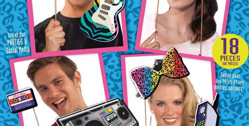 80's Photo Booth Kit
