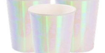 We Heart Pastels Paper Cups - 250ml (12)  12pk