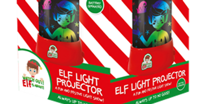 Elf Light Projector This battery operated Elf Light Projector measures 11cm