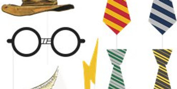 Harry Potter Photo Booth Props 8pk
