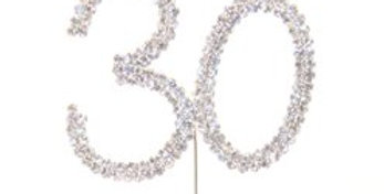 30th Birthday / Anniversary Diamante
