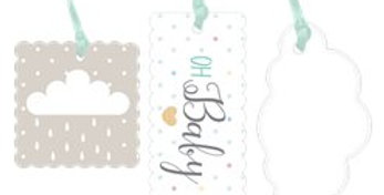 Baby Wishes Gift Tags (3pk)