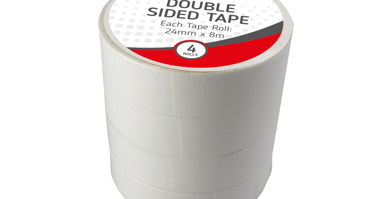 Double Sided Tape - 4 Pack