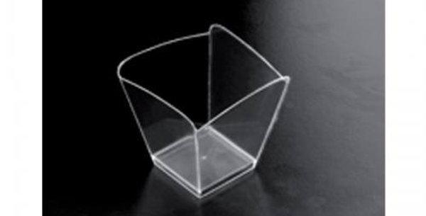 25pk 95cc transparent mini cup