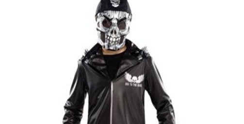 Bad to the Bone - Child Costume ages 8-10, 12-14 years includesTop, Headpiece,fi