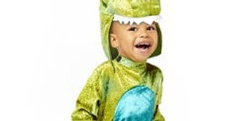 Baby Roar - Baby Costume (each) 6-12 months ,1-2 years includes jumpsuit a