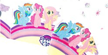 My Little Pony - Plastic Tablecover 1.2m x 1.8m (each)