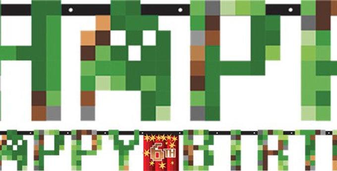TNT Party Jumbo Letter Banner (each)
