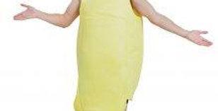 Unisex banana costume one size
