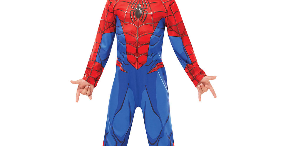 Spiderman Child costume includes Jumpsuit and fabric mask age3-4,5-6,7-8 years 4