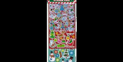Wholesale Christmas Stickers 120pk