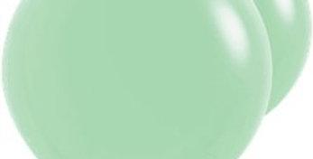 Mint Green Giant Balloons - 36 Latex   2pk