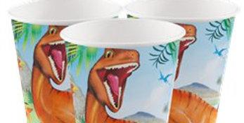 Dinosaur Adventure Paper Cups - 255ml (8pk