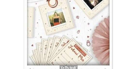 Hen Party Guess Who Game Personalised Garland