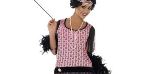 1920s Coco Flapper Dress - Adult Costume includes dress,cigarette holder,p