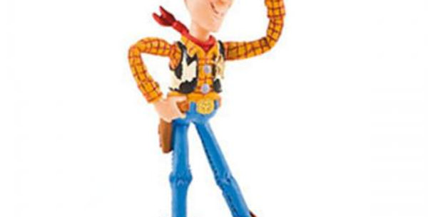 Woody plastic cake topper