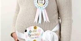 Pattern Works 'Mum To Be' Ribbon & Rosette Kit (