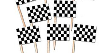 Racing Flag Picks (50pk)