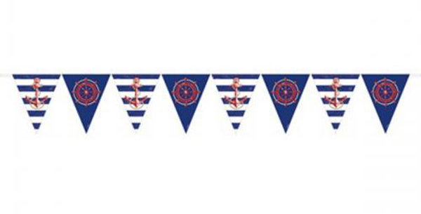 anchors away bunting  3.65m