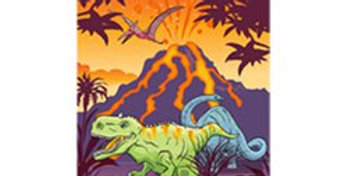 Dinosaur Mini Notebook (each)