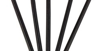 Black Taper Candles (12pk