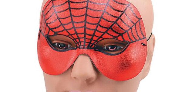 Spider Web Domino Half Face