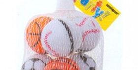 4 Sports Ball Yoyos Net Bag