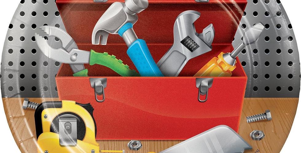 Bob the Builder - Construction - Handyman small plates 17.4cm 8pcs