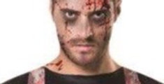 Bloody Butcher Dark Apron Halloween Costume