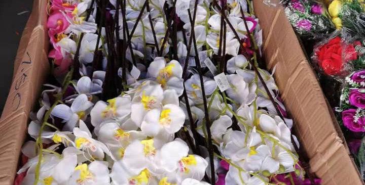 Artificial Orchids  1 stem