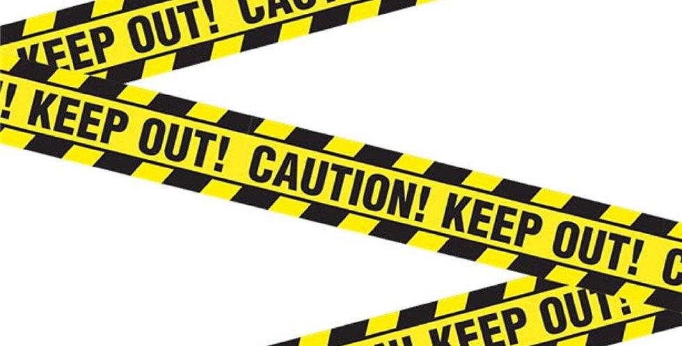 Bob the Builder - Construction - Caution Tape, 6 metre