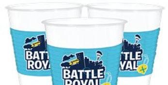 Battle Royal Plastic Cups - 473ml (8pk)
