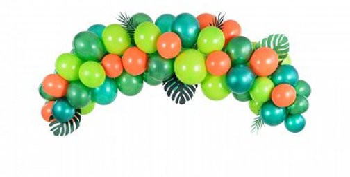 Balloon garland - Dino, 200cm