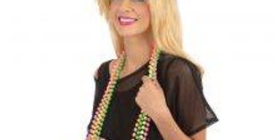 80s Neon Beaded Necklace (4 Colours)