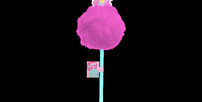 Pom Pom unicorn / Mermaid / Llama Character Pens