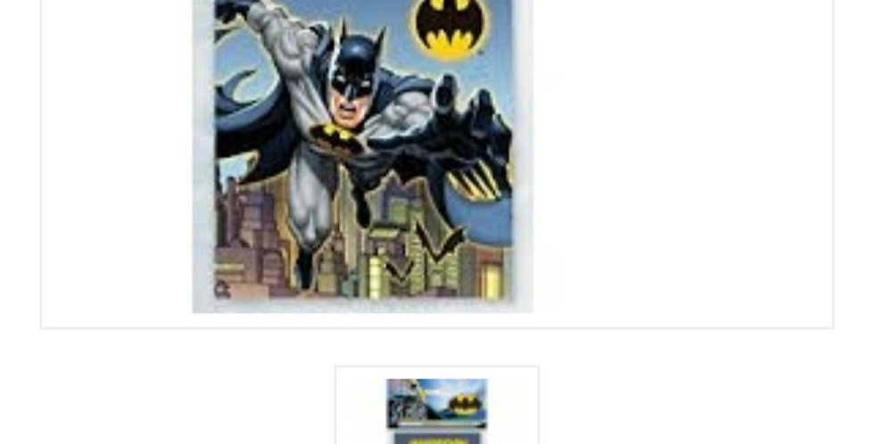 Batman invitations 8pk