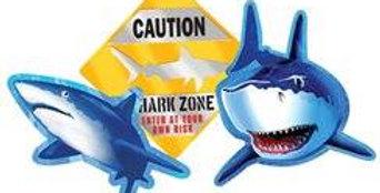 Shark Splash Party Shark Splash Cutout (each)