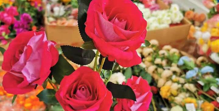 Artifical roses