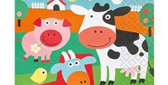 Farm Fun Napkins - 2ply Napkins (20pk)