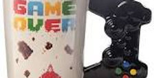 GAME OVER Game Controller Shaped Handle Mug
