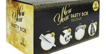 New Year party Box for 12 People