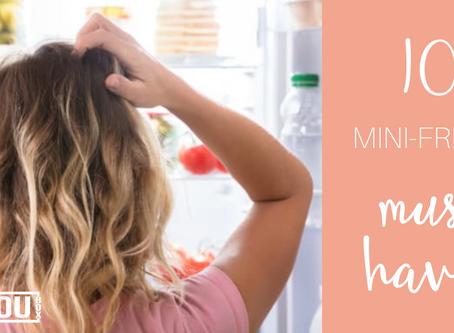10 Mini-Fridge Must Haves