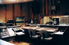 Music Masters control room A.